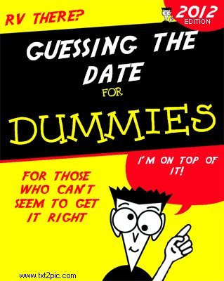 Guessing-the-date-for-dummies-book