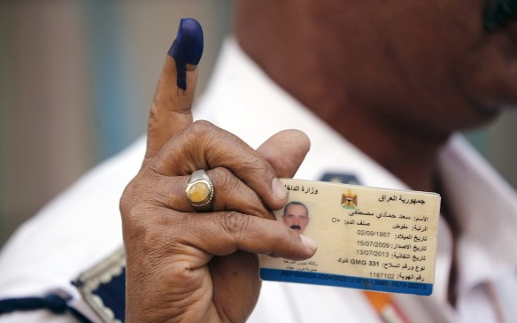 Look Mom - I Voted!   |  Photo Credit: Aljazeera.com